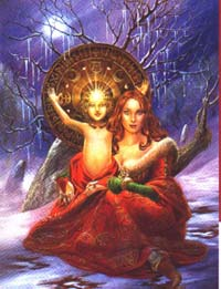 Yule The Goddess And The Greenman