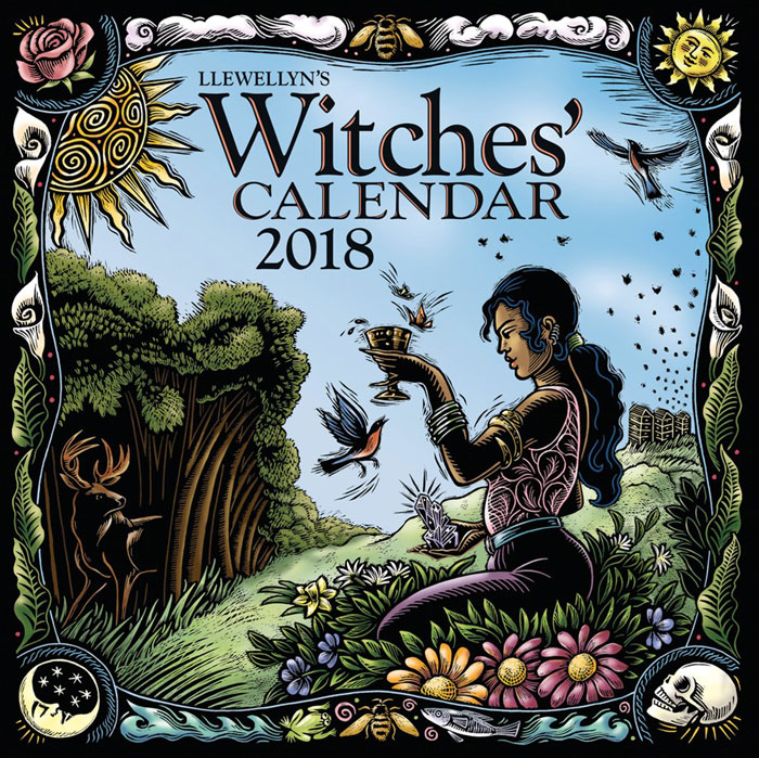 Witches' Calendar 2018
