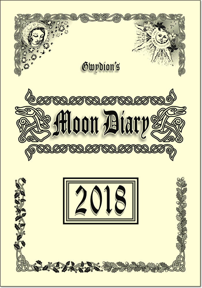 Gwydion's Moon Diary 2018