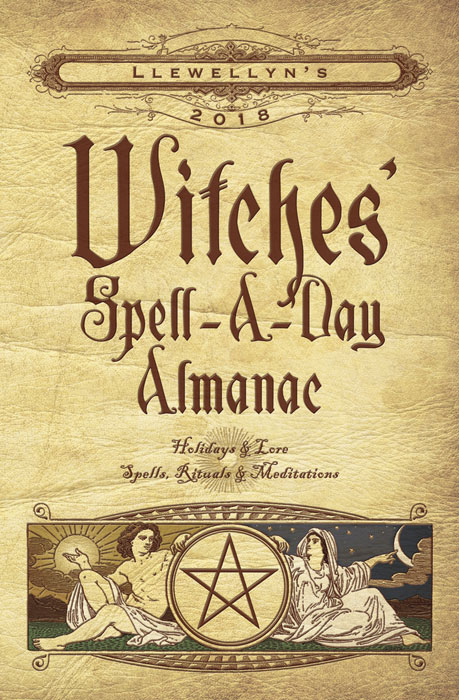 Witches' Spell-A-Day Almanac 2018