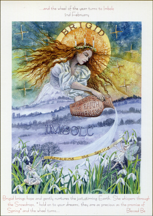 Goddess Wheel of the Year - Imbolc