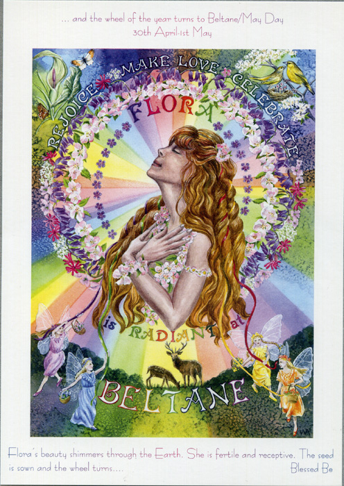 Goddess Wheel of the Year - Beltane