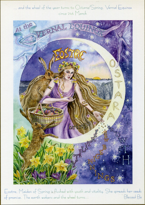 Goddess Wheel of the Year - Ostara/Spring Equinox