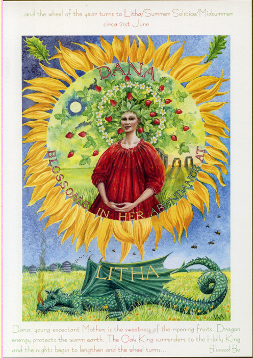 Goddess Wheel of the Year - Litha/Summer Solstice