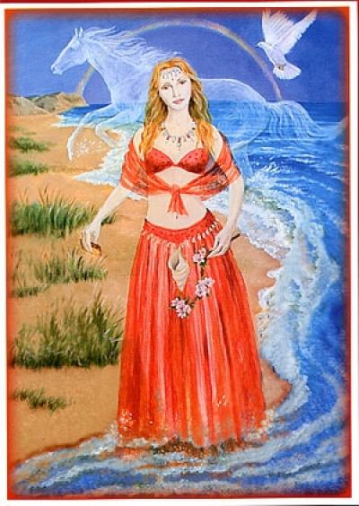 Goddess Of Love at Beltane