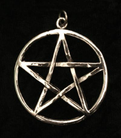 Large Woven Pentacle