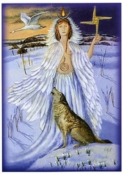Maiden Goddess at Imbolc