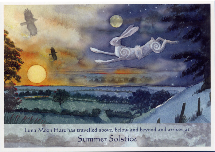Luna Moon Hare at the Summer Solstice