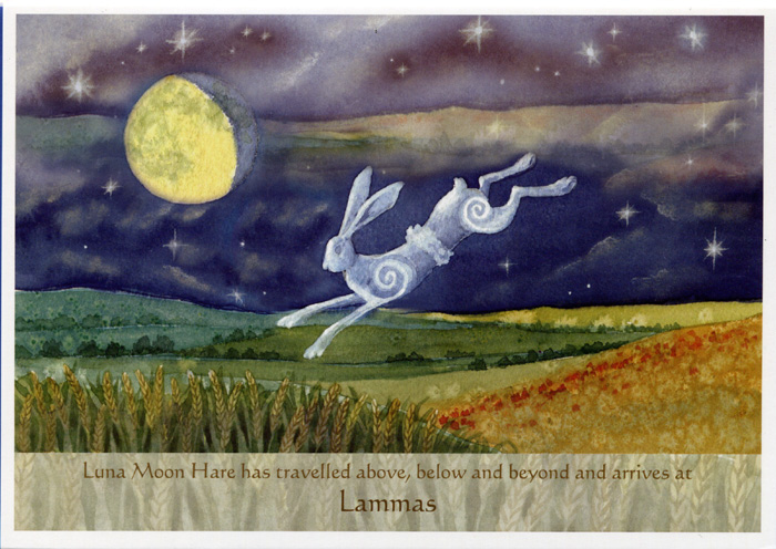 Luna Moon Hare at Lammas