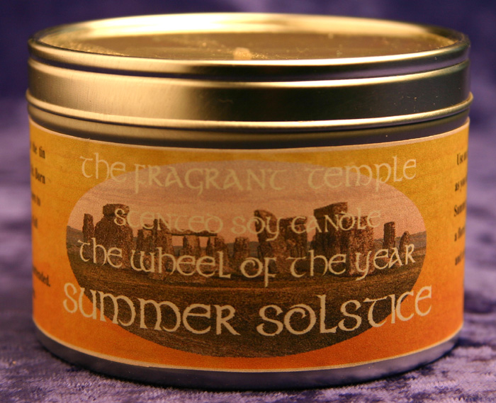 Litha/Summer Solstice Candle
