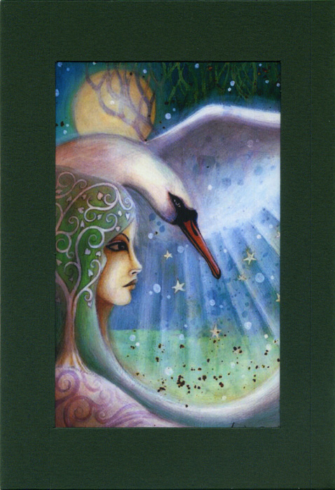 Swan Sister at Imbolc