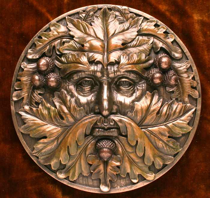 Mabon Green Man Plaque