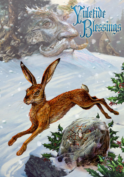 Midwinter Rune Hare