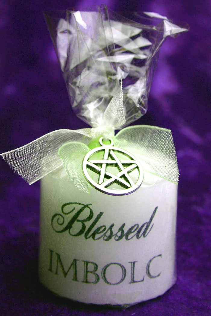 Imbolc Keepsake Candle