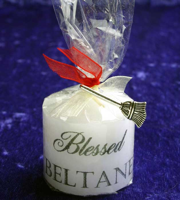 Beltane Keepsake Candle