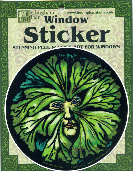 Window Sticker - Green Man