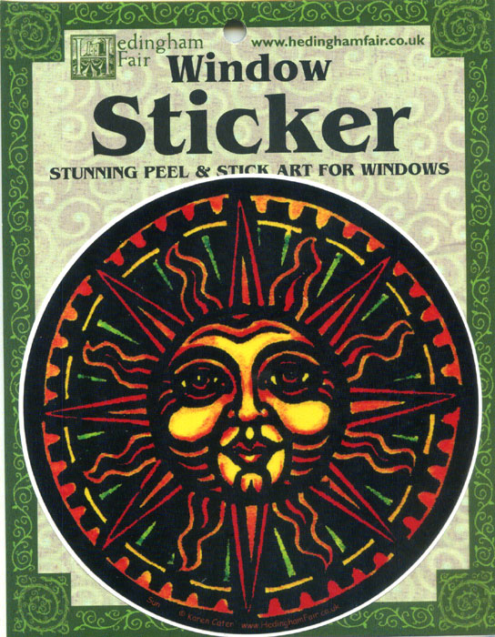 Window Sticker - Sun