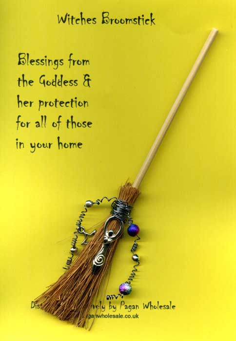 Goddess Blessing Broomstick