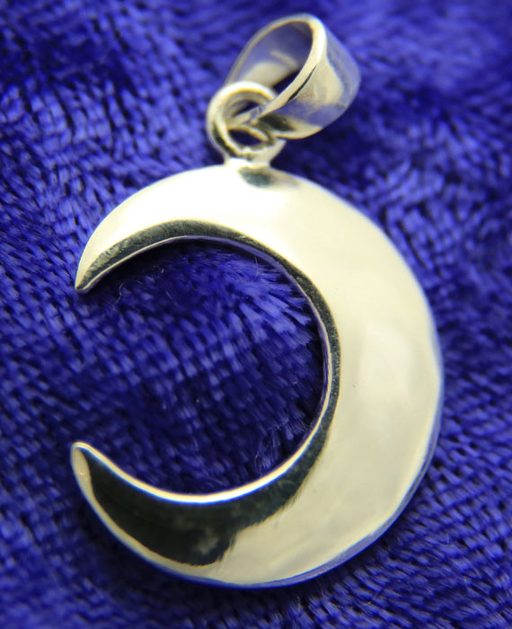 Waxing Moon Pendant