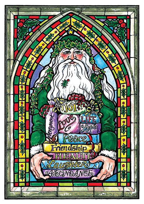 The Gifts of Yuletide - pack of 8 cards