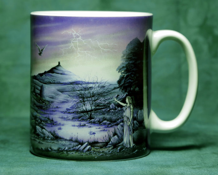 Lady of Avalon Mug