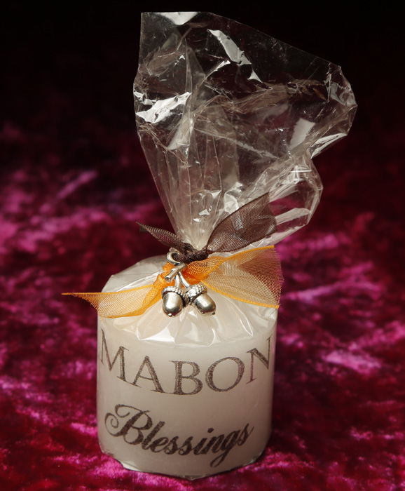Mabon Keepsake Candle