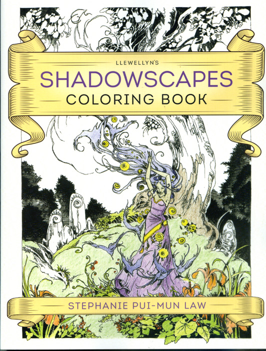 Shadowscapes Colouring Book