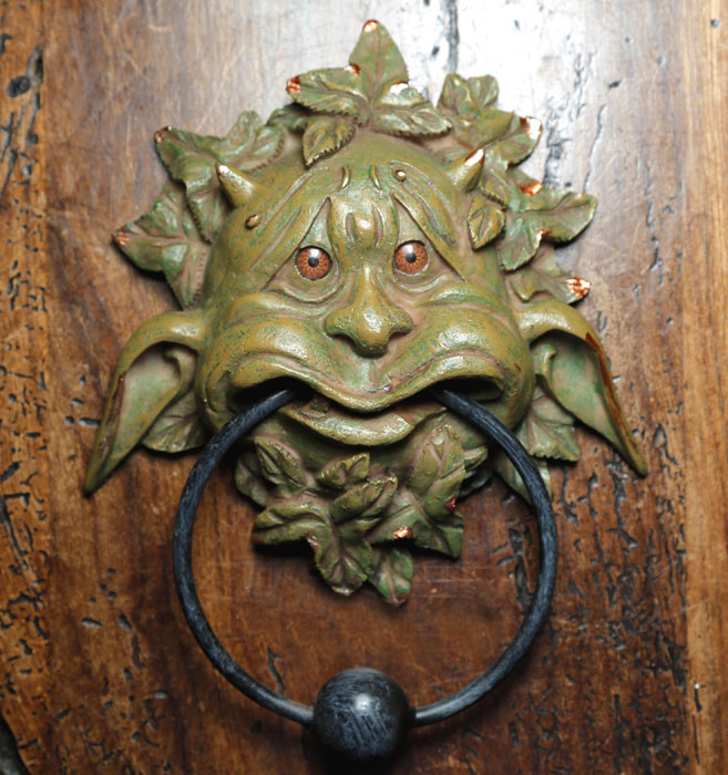 'Boldly' Door Knocker