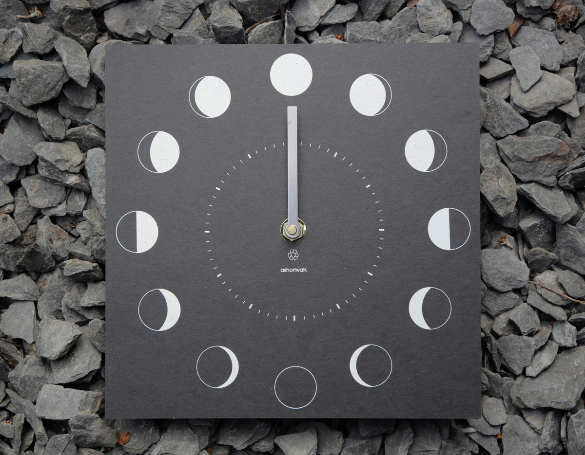 Lunar Moon Phase Clock