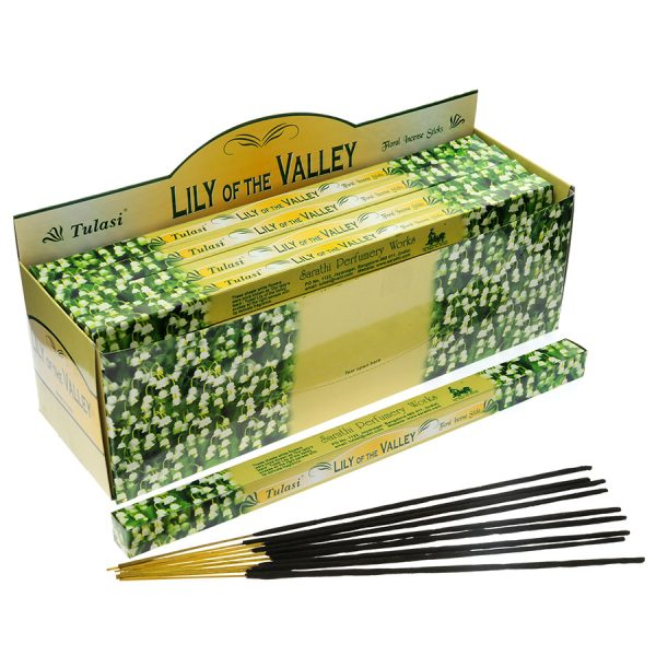 Tulasi Lily of the Valley Incense Sticks
