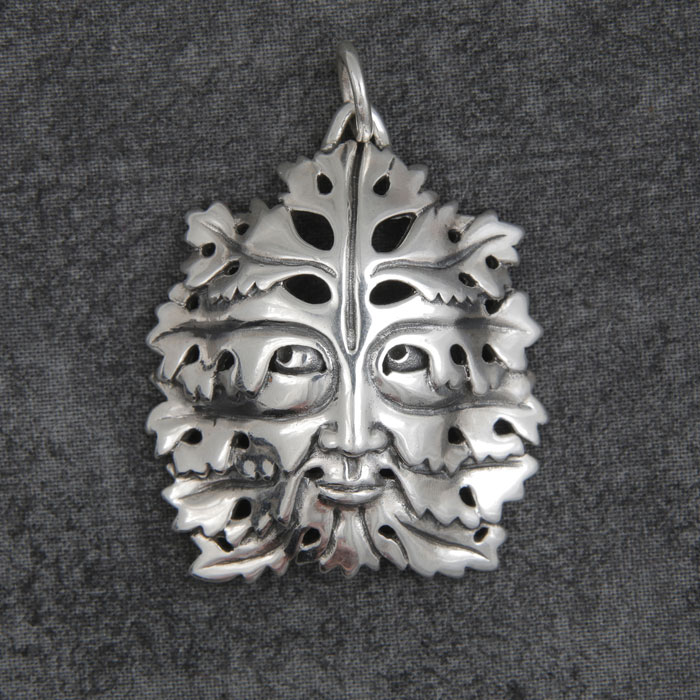Bamberg Green Man in Silver