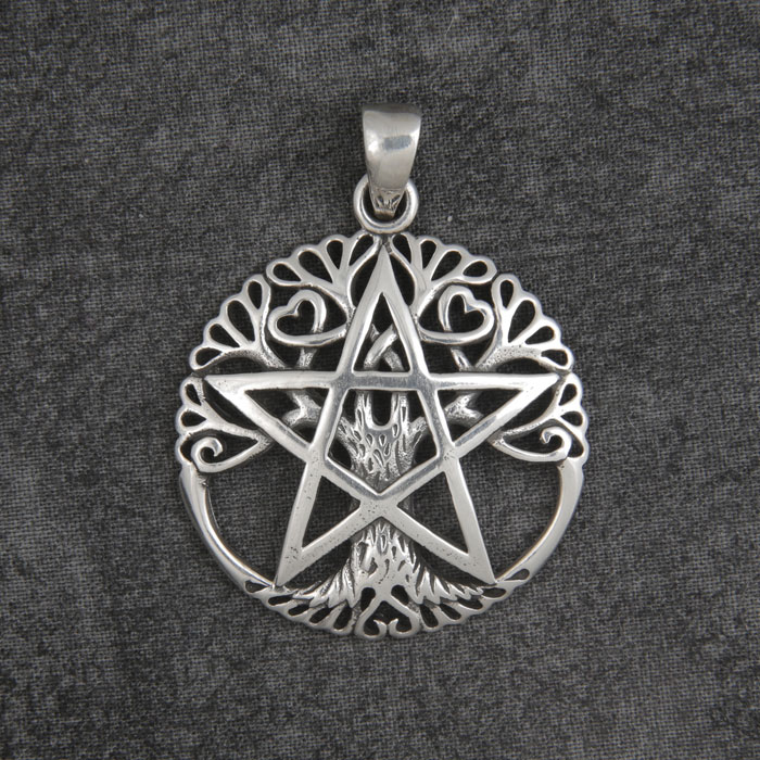 Tree Of Life Pentacle Pendant