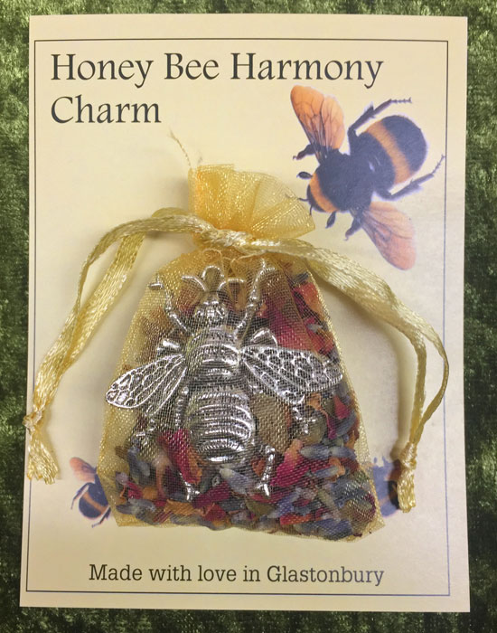 Honey Bee Harmony Charm