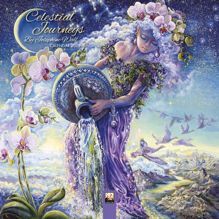 Celestial Journeys Mini Calendar 2019