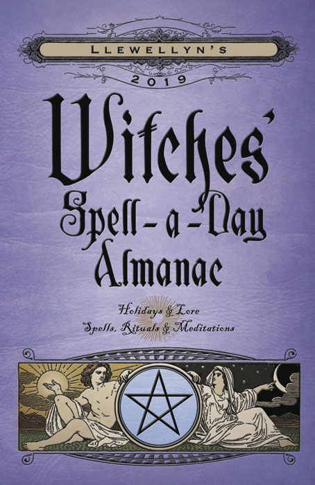 Witches' Spell-A-Day Almanac 2019
