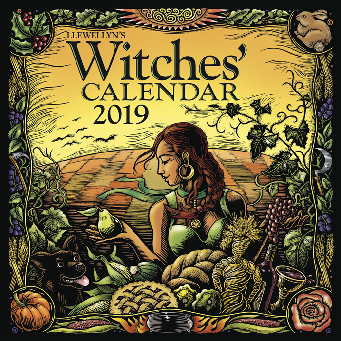 Witches' Calendar 2019