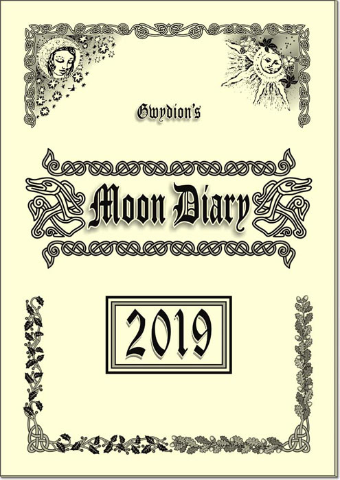 Gwydion's Moon Diary 2019