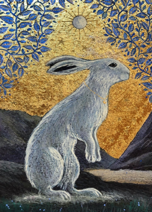 The Creggan White Hare