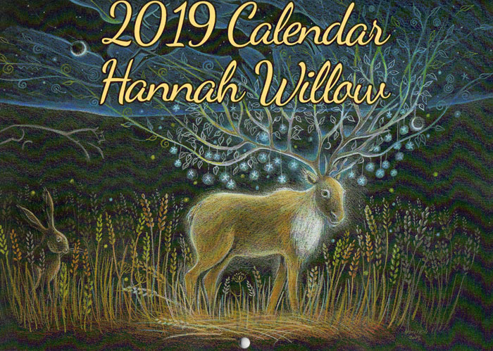 Hannah Willow Pagan Calendar 2019