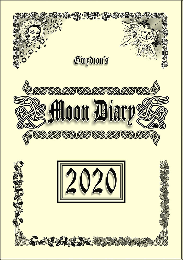 Gwydion's Moon Diary 2020