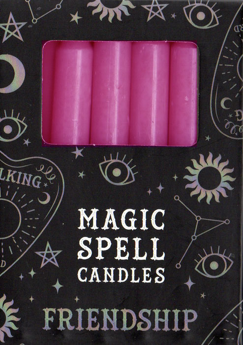 Pale Blue Spell Candles