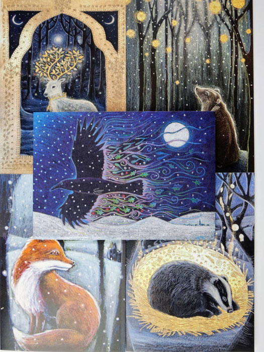 Awaiting The Snow - Assorted set of 5 cards