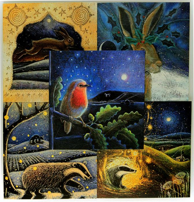Yule Songs - Assorted Set of 5 Cards