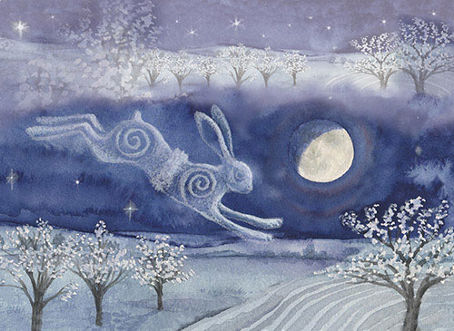 Luna Moon Hare at Beltane