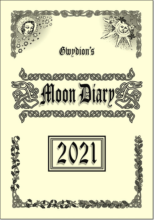Gwydion's Moon Diary 2021