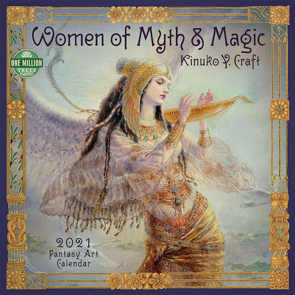 Women of Myth & Magic Calendar 2021