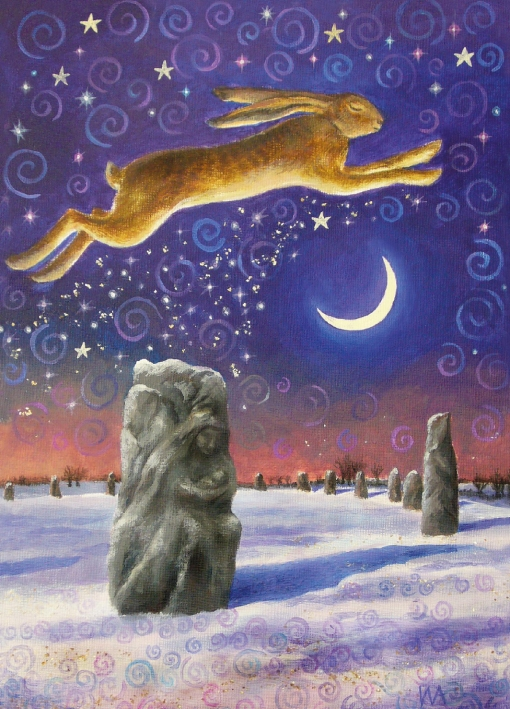 Winter Solstice Magic - Pack of 5 Cards